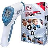 BGS 6006 infrarossi | Senza Contatto | Termometro per Febbre | per Bambini, Adulti e Oggetti