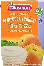 Plasmon Omogeneizzato di Yogurt Albicocca Sdn - 24 Vasetti da 120 gr