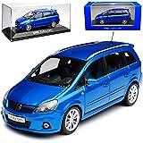 Minichamps Opel Zafira B Opc Blau Van 2 Generation 2005 2014 1 43 Modell Auto Mit Individiuellem Wunschkennzeichen Spielzeug