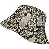 da Pescatore Fodera Autunno//Inverno Lipodo Cappello Reversibile con Stampa Leopardo Donna