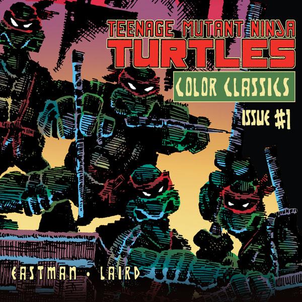 Teenage Mutant Ninja Turtles: Color Classics (Collections) (2 Book Series)
