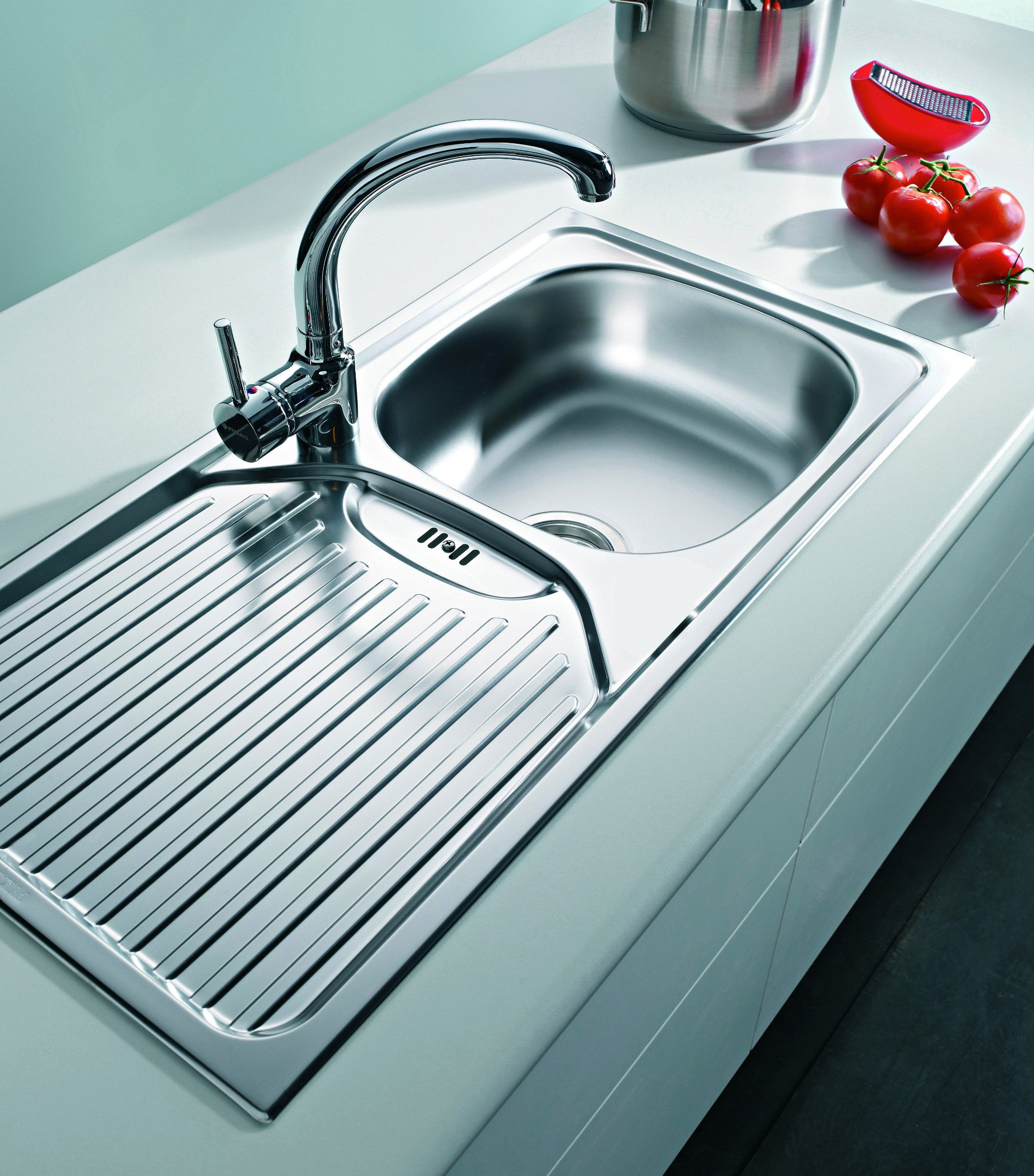 Stainless Steel Kitchen Sink High Quality Single Bowl Basin With ...