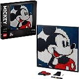 LEGO 31202 Art Disney's Mickey Mouse Byggsats, Väggdekor, Pyssel för Vuxna, Musse Pigg, Heminredning
