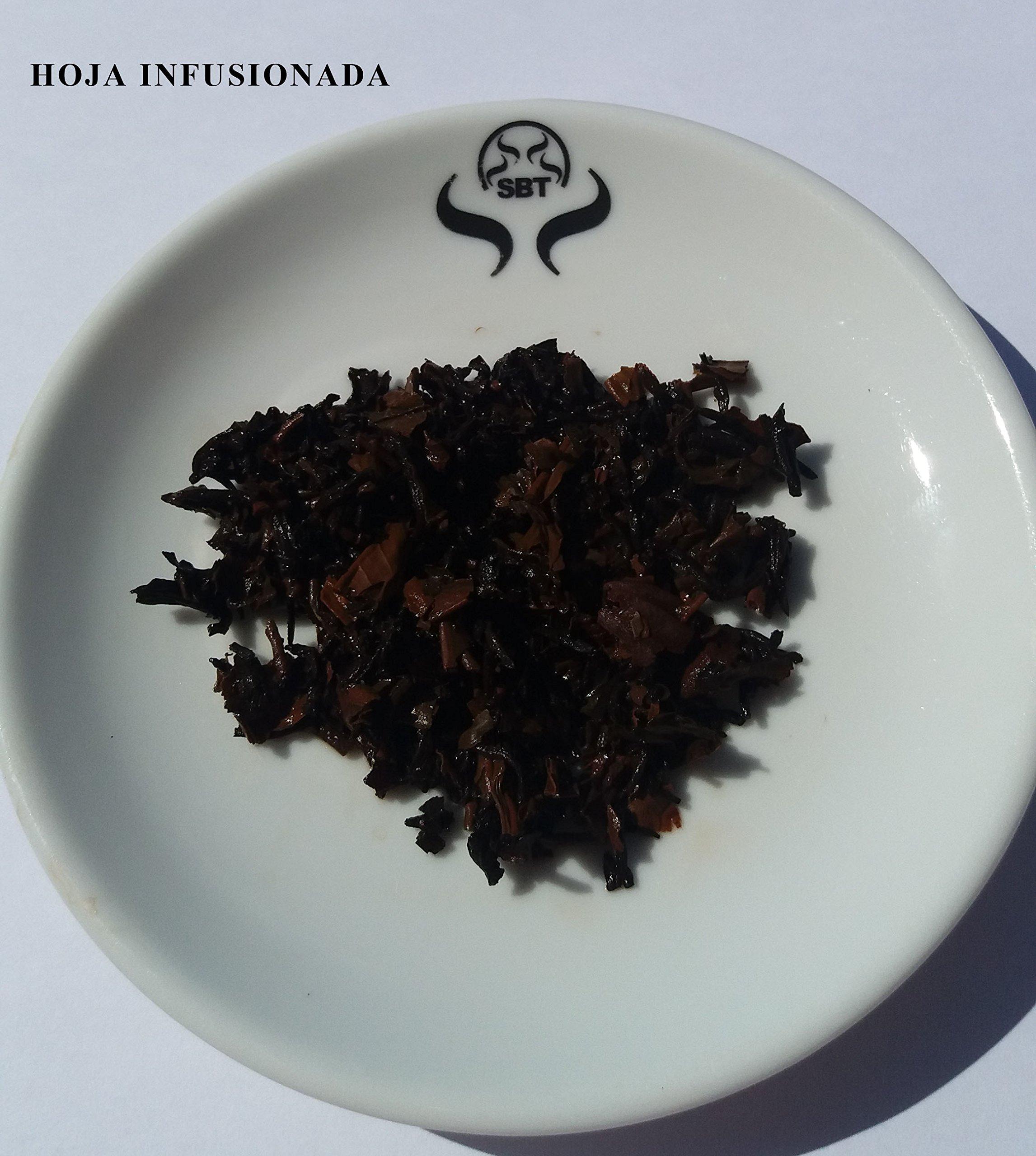 SABOREATE-Y-CAFE-THE-FLAVOUR-SHOP-Pu-Erh-Roter-Tee-Yunnan-China-Vanille-Lose-Bltter-Gewichtsverlust-Dit-abnehmen-100-Gramm