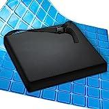 AIESI® Cuscino Antidecubito Professionale (Certificato) Memory in poliuretano espanso con cuscinetto interno in gel…