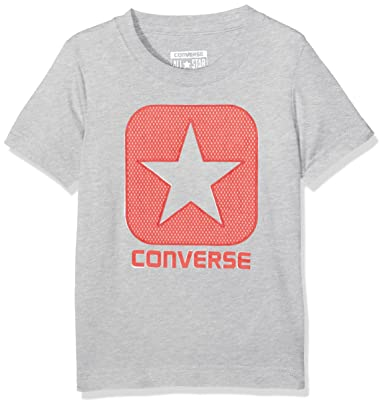 3eca0d471cd5 Converse Boy s Mesh Box Tee T-Shirt  Amazon.co.uk  Clothing