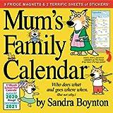 Mum's Family Wall Calendar 2021