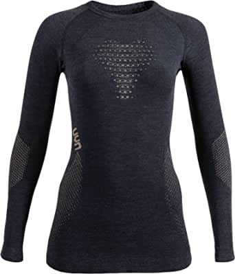 UYN Lady Fusyon Cashmere UW Shirt LG_SL Fusyon Cashmere Maglia Intima da Donna Manica Lunga Donna