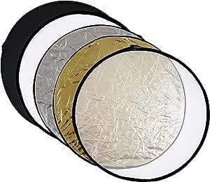 Meymoon Faltreflektor 5 In 1 Durchmesser 110cm Kamera