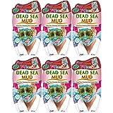 Montagne Jeunesse Dead Sea Mud Gezichtsmaskers, 20 g, verpakking van 6 stuks
