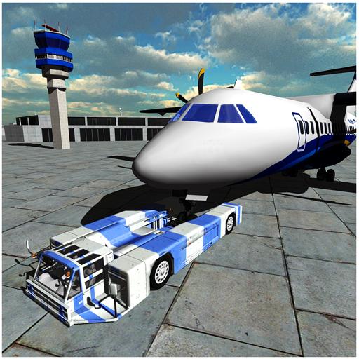 Flight Bodenpersonal des Flughafens Simulator 3D (Fliegen, Zug)