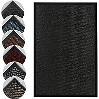 Homatz Indoor Door Mat - Heavy Duty Rubber, Floor and Kitchen Mats - Non Slip, Washable and Dirt Trapper Doormats Super…