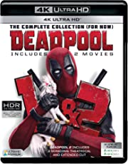 2 Movies Collection: Deadpool 1 & 2 - Theatrical & Extended Cut (4K UHD) (3-Disc)