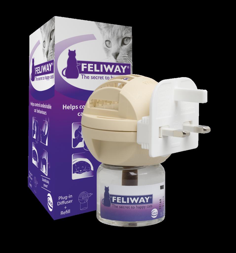 Feliway Cat Comforting Pheromone Diffuser Reviews
