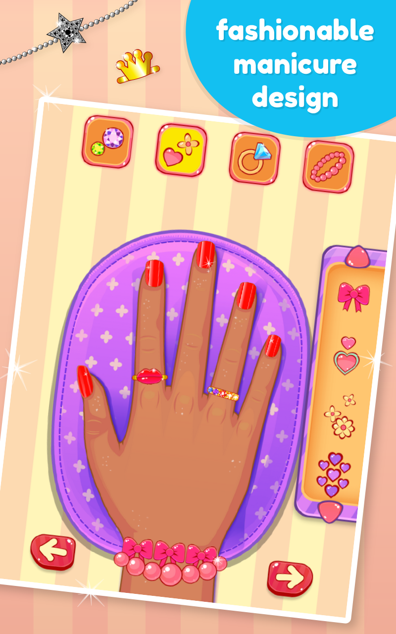 Nail art salon games for girls appstore for A nail salon game