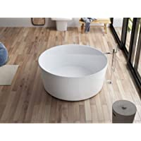 """Baignoire îlot ronde LOOM""""by SPALINA"""""""