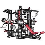 Tytax® T3-X, la migliore attrezzatura per la palestra in casa, sistema completo, free weight, cavo multi stazione…