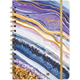 2021-2022 Diary - Academic Weekly & Monthly A5 Diary Planner, from July 2021 to June 2022, Hardcover with Tabs, Thick Paper,