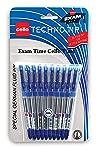 Cello Technotip Ball Pen Set - Pack of 10 (Blue)