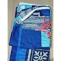 Everwey Enterprise 100% Box Cotton Zippered Mattress Cover / Protector - Size ( Single Bed) ( 3 feet x 6 feet) / 36 inch…