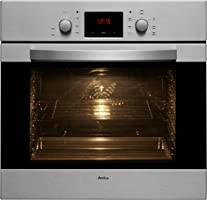 Amica EB 13523 E Backofen Elektro/A / 0.95 kWh / 66 L/Steam Clean Reinigungsfunktion durch Wasserdampf/Sensor Control-Timer mit rotem LED Display/edelstahl