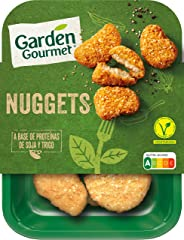 GARDEN GOURMET Nuggets Vegetarianos Refrigerados, 200g
