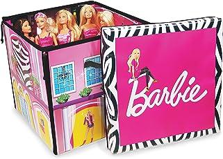 Mattel Barbie A1465XX - Zipbin Traumhaus Aufbewahrungskiste mit Spielmatte