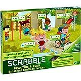 Mattel Games FTG51 Scrabble Practice und Play Spielend Englisch Lernen Wörterspiel, Kinderspiel geeignet für 2 - 4 Spieler, Spieldauer ca. 20 - 30 Minuten, ab 5 Jahren