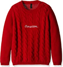 United Colors of Benetton Girls' Sweater