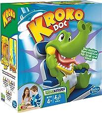 Hasbro Spiele - Kroko Doc, Geschicklichkeitsspiel, Kinderspiel ab 4 Jahren