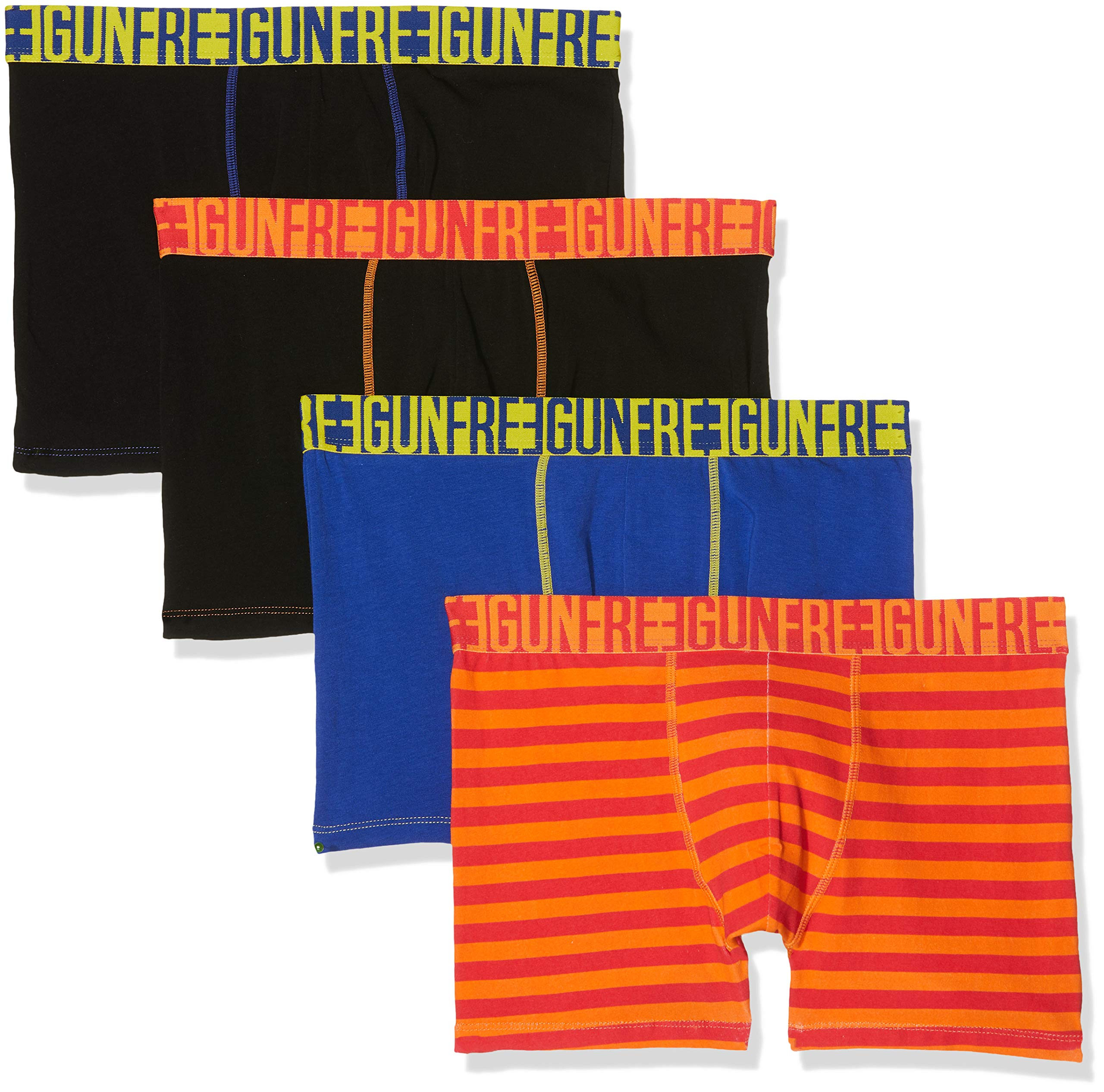 FREEGUN Men Boxer Culotte (Pack de 4) para Hombre