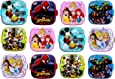 Perpetual Bliss Fancy Disney Theme Square Lunch Box Double Layer for Kids Return Gifts {Dimension}cm: 13x13x10 (Pack of 12)