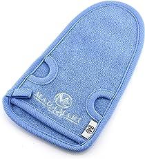 MADAMARI CARE Premium Peeling-Handschuh aus Bambus – Hochwertige Verarbeitung - Für Körperpeeling & Massage