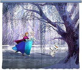 AG Design FCC xl 6300 - Tende per camera bambini, motivo: Disney Frozen
