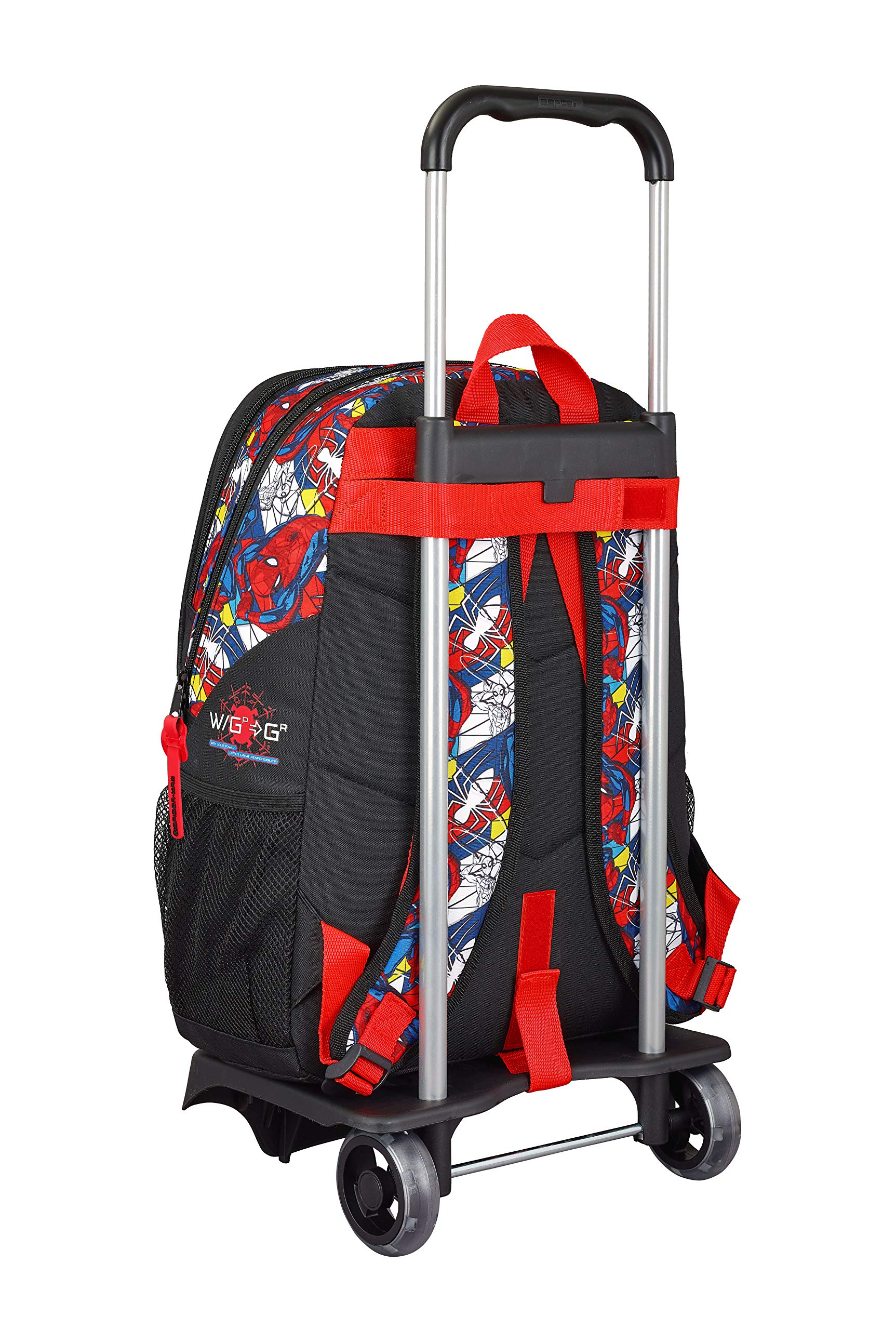 Spiderman Mochila grande con carro, trolley
