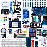 ELEGOO Arduino Mega 2560 R3 Kit de Démarrage Ultime Le Plus Complet avec Manuel d'Utilisation Français pour Débutants et Professionnels DIY