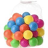 50 قطعة من كرات مقاس 5.5 سم - كرات محيط لطيفة صديقة للبيئة، مصنوعة من البلاستيك الناعم يمكن استخدامها في خيمة او حوض ماء او ف