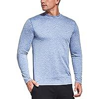 Ogeenier Men's Fleece Thermal Top Mock Long Sleeve Running Sport Golf Cycling T-Shirt