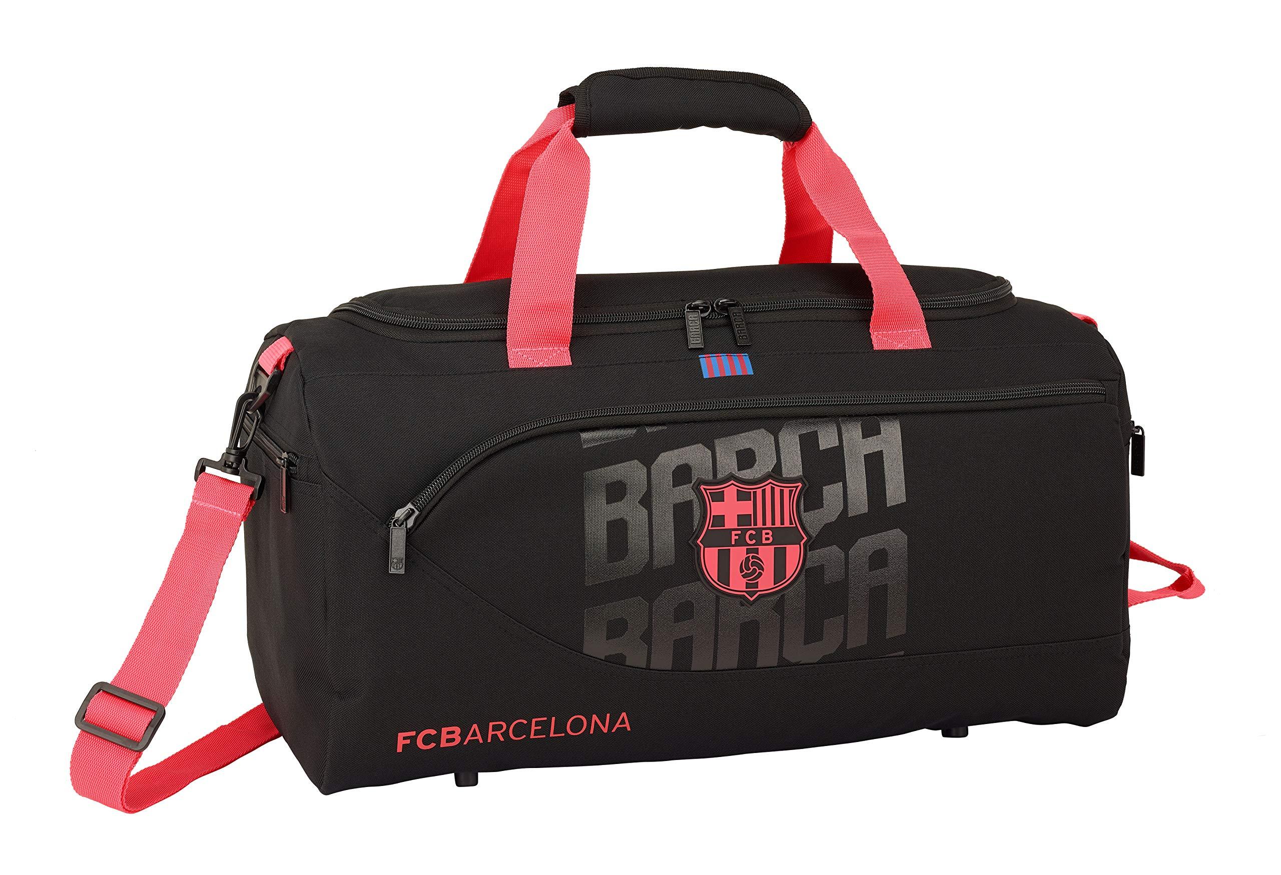 FC-Barcelona-SAFTA-Fc-Oficial-Bolsa-De-Deporte-Sporttasche-50-cm-31-liters-Blau-Azul