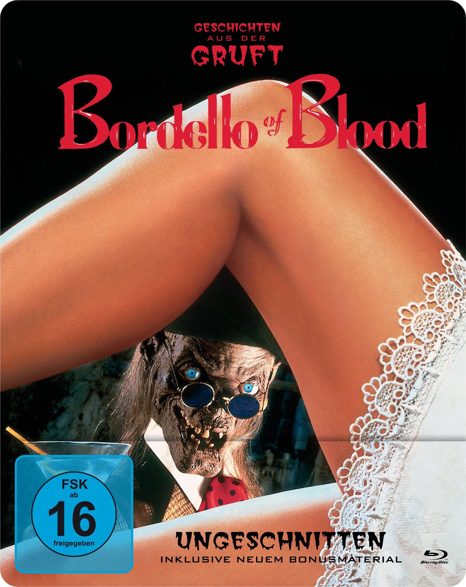 Bordello of Blood - Geschichten aus der Gruft präsentiert - Ungeschnitten/Steelbook [Edizione: Germa