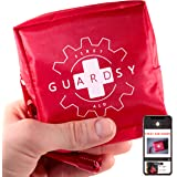 Guardsy Mini First Aid Kit | Compact Small Medical Emergency Survival Kit perfect for Car, Travel, Hiking, Camping, Outdoor,