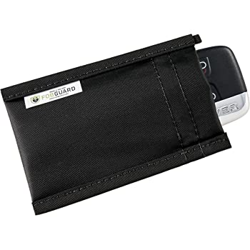 FobGuard® security pouch - Ideal Faraday Cage to Protect Car Keyless Entry Fobs from Hacking, Signal Amplification and Signal Relay Attacks