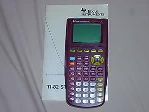 [Ancien Modèle] Texas Instrument TI-82 Stats.fr Calculatrice graphique pour lycée et bac pro