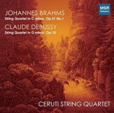 Brahms: String Quartet in C minor, Op.51 No.1; Debussy: String Quartet in G minor, Op.10
