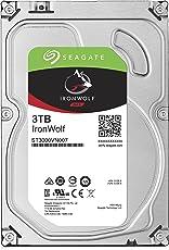 Seagate ST3000VN007 Interne Festplatte (64 MB Cache, 5900 RPM, SATA 6 Gb/s, 8,9 cm (3,5 Zoll)) 3 TB
