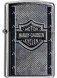 Zippo Feuerzeug 60000099 Harley Davidson Metal Lighter, Silver, One Size