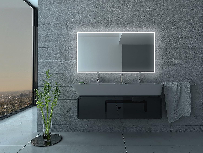 Led Badspiegel Wandspiegel mit Beleuchtung Badezimmerspiegel ...