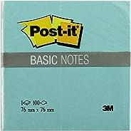 Post-it 654BN-TE Basic Not, Parlak Yeşil, 100 yaprak, 76x76 mm
