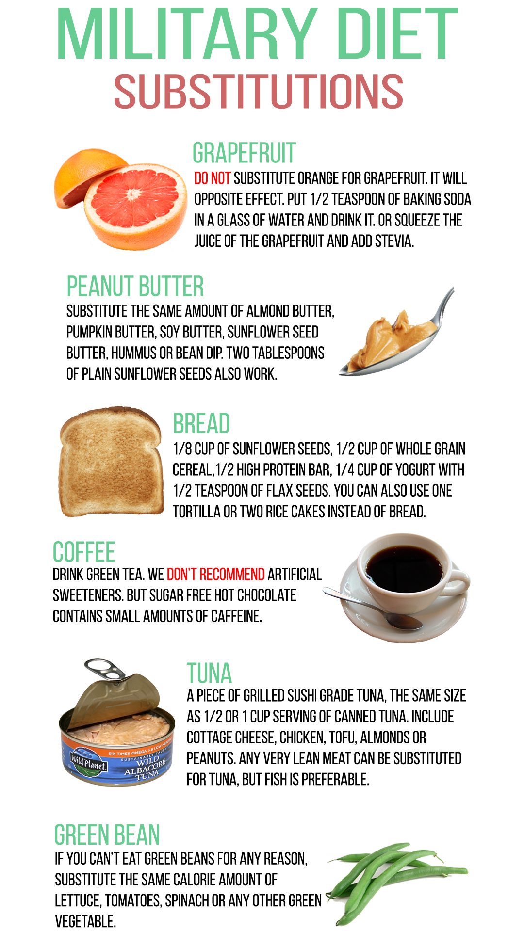 It's just a graphic of Gratifying Military Diet Printable