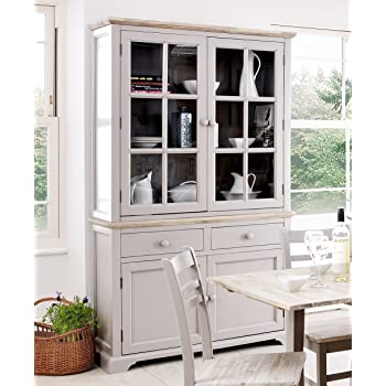Premier Housewares Marcella Cabinet with 2 Glass Doors